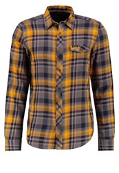 Wrangler Flap Slim Fit Shirt Inca Gold Yellow