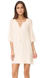 Bb Dakota Kam Embroidered Dress Ivory