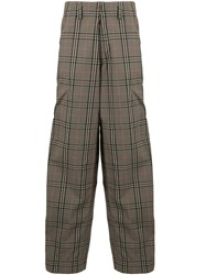 Kolor Loose Fit Checked Trousers 60