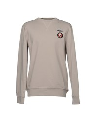 Aeronautica Militare Sweatshirts Light Grey