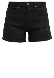 Dr. Denim Dr.Denim Jenn Denim Shorts Black Black Denim