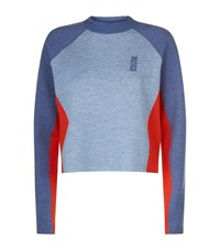 Lndr Snug Cropped Sweater Blue