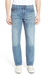 True Religion Men's Big And Tall Brand Jeans Ricky Relaxed Fit Jeans Hidden Reef