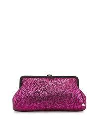 Beekman Metallic Clutch Bag Bubble Pink Sjp By Sarah Jessica Parker