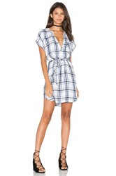 Lovers Friends Bryce Shirt Dress Gray