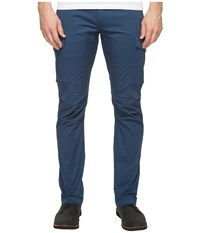 Dockers Premium Broken In Chino Straight Fit Cargo Moonlit Ocean Men's Casual Pants Blue