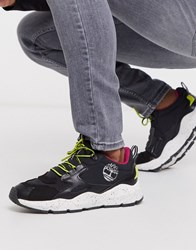 Timberland Ripcord Arctra Low Trainers In Black Pop