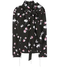 Marc Jacobs Printed Blouse Black