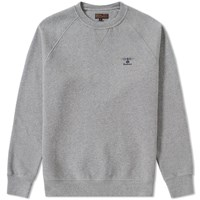 Barbour Standards Sweat Grey
