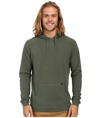 Rvca Pick Pullover Knit Duck Green Men's Long Sleeve Button Up