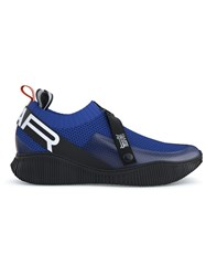 Swear Crosby Knit Sneakers Blue