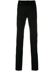 Valentino Stretch Skinny Trousers Black