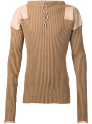 Vivienne Westwood Army Jumper Nude And Neutrals