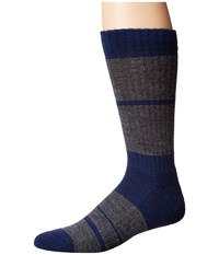 Richer Poorer Vantage Hiking Heavy Sock Grey Men's Crew Cut Socks Shoes Gray