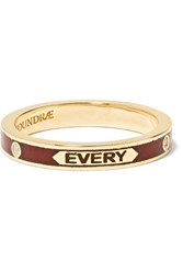 Foundrae With Every Breath 18 Karat Gold