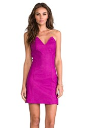 Boulee Ashton Dress Fuchsia