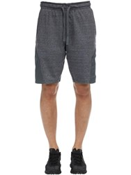 Under Armour Project Rock Terry Sweat Shorts Dark Grey