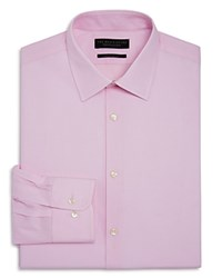 Bloomingdale's The Men's Store At Textured Dobby Regular Fit Dress Shirt 100 Exclusive Pink