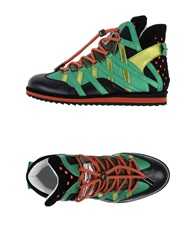 Dolce And Gabbana High Tops And Trainers Emerald Green