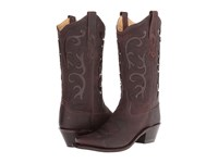 Old West Boots Lf1578 Brown Tumbled Cowboy