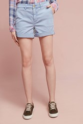 Anthropologie Relaxed Chino Shorts Sky