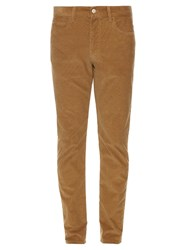 Gucci Straight Leg Micro Corduroy Trousers