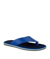 Kurt Geiger Konan Leather Sandal Blue
