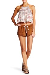 Billabong Summer Faux Suede Short Brown