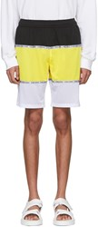 Opening Ceremony Yellow Limited Edition Colorblock Shorts