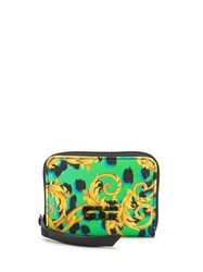 Versace Jeans Couture Baroque Print Zip Around Wallet 60