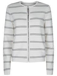 Damsel In A Dress Delia Knitted Jacket Black White