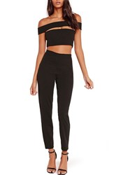 Missguided Women's Bandage Jumpsuit