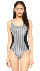 Giejo Scoop Neck One Piece Black