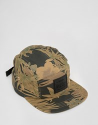 Artsac Workshop 5 Pannel Cap In Camo Green