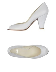 Michel Perry Pumps White