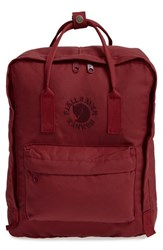 Fjall Raven Fjallraven 'Re Kanken' Water Resistant Backpack Red Ox Red