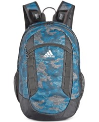 Adidas Men's Excel Ii Backpack Blue Printed
