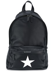 Givenchy Star Print Backpack Black