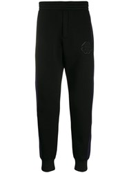 Alexander Mcqueen Panelled Track Trousers Black