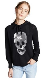 360 Sweater Selena Hooded Black