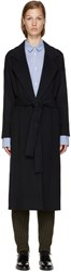 Each X Other Navy Wool Coat