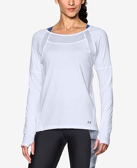 Under Armour Sport Long Sleeve Training Top White