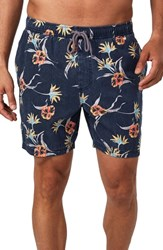 7 Diamonds Castaway Swim Trunks Navy