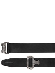 Dsquared 40Mm Leather Belt Black