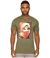 Obey Universal Personhood 2 Military Olive Men's T Shirt