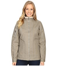 Kuhl Burr Lined Jacket Light Khaki Women's Coat