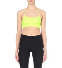 Sweaty Betty Yama Padded Yoga Bra Carnival Yellow