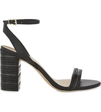 Aldo Izabela Heeled Sandals Black Synthetic