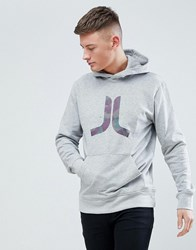 Wesc Inlay Icon Hoodie Grey