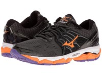 Mizuno Wave Horizon Dark Shadow Orange Pop Passion Flower Women's Running Shoes Brown